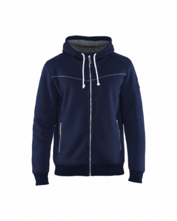 Blaklader 4933 Hoodie With Pile Lining (Navy Blue)